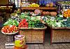 蔬菜市场 | 免版税照片