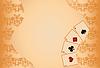Glücksspiel Poker Hintergrund mit nahtlose Muster