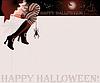 Happy halloween magische Karte