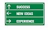 ID 3317929 | Der Erfolg, neue Ideen, Erfahrungen oder Verkehrszeichen | Illustration mit hoher Auflösung | CLIPARTO