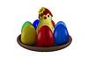 Wielkanoc martwa natura   Stock Illustration