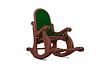 3D drewniany fotel | Stock Illustration