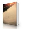 일몰 강에 플로트 낚시 | Stock Foto