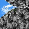 하늘과 지퍼 | Stock Foto