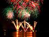 ID 3376698 | Feuerwerk über dem Wasser | Foto mit hoher Auflösung | CLIPARTO