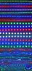 ID 3327899 | Abstrakcyjne światła disco odbicie w wodzie, dyskoteka | Stockowa ilustracja wysokiej rozdzielczości | KLIPARTO