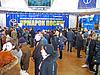 Osób poszukujących pracy w czasie wystawy na Ukrainie | Stock Foto