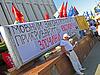 ID 3334848 | Menschen in den Streik gegen Sprachengesetz | Foto mit hoher Auflösung | CLIPARTO