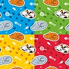 Nahtloses Muster mit Katzen | Stock Vektrografik