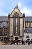 Catedral en la plaza Dam de Amsterdam | Foto de stock