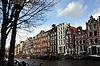 Амстердам - вид на канал с лодками | Фото