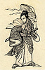 ID 3362962 | Ein Samurai mit Katana Schwert und Hut | Illustration mit hoher Auflösung | CLIPARTO