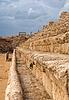 Starożytny rzymski hipodrom w Cezarei, Izrael | Stock Foto