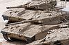 ID 3349095 | Israelischer Panzer Merkava in Panzerkops-Museum in Latrun | Foto mit hoher Auflösung | CLIPARTO