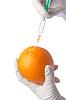 ID 3352116 | Wissenschaftliches Experiment mit Orange und Spritze | Foto mit hoher Auflösung | CLIPARTO