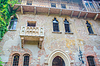 Famous Juliet balcony in Verona | Stock Foto