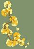 Kwiaty w stylu secesyjnym | Stock Vector Graphics