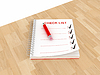 ID 3358289 | Sprawdź papier listy notatek | Stockowa ilustracja wysokiej rozdzielczości | KLIPARTO