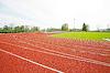 Pista de atletismo | Foto de stock
