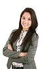 Mujer feliz empresa joven | Foto de stock