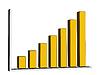 Żółty wykres | Stock Illustration