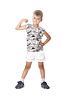 ID 3371715 | Boy pokazano jego mięśnie | Foto stockowe wysokiej rozdzielczości | KLIPARTO