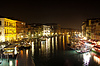 Grand Canal in Venedig in der Nacht | Stock Foto