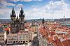 Stadt Prag | Stock Foto