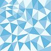 Textur mit blauen Dreiecken | Stock Vektrografik