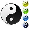 Hintergrund Yin-Yang-Symbol