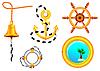 Morskich ikon dla projektu | Stock Vector Graphics