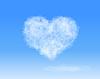 Chmura w kształcie serca | Stock Vector Graphics