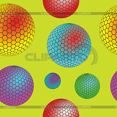 Nahtlose Textur mit Blasen | Stock Vektorgrafik |ID 3001280