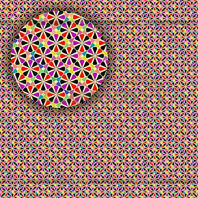 Geometrisches nahtloses detailliertes Muster | Stock Vektorgrafik |ID 3001329