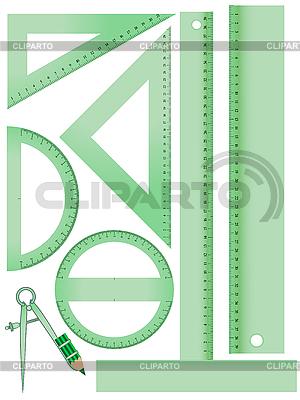 Schule Messaufbau | Stock Vektorgrafik |ID 3001395