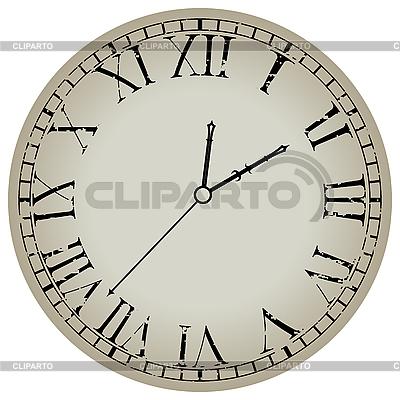 Runde Uhr | Stock Vektorgrafik |ID 3001727