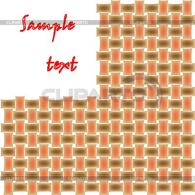 Gespinst-Muster | Stock Vektorgrafik |ID 3002541