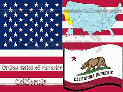 Kalifornien | Stock Vektorgrafik |ID 3002869