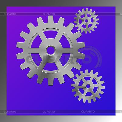 шестеренки векторный клипарт: