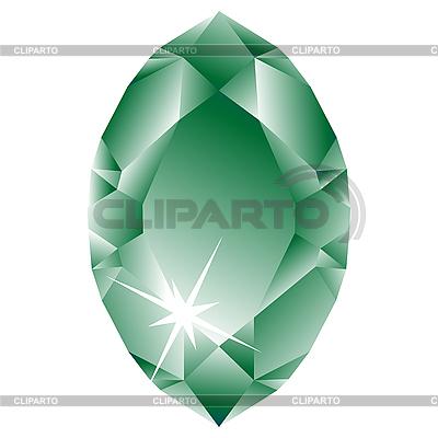 Zielony romb | Klipart wektorowy |ID 3003891