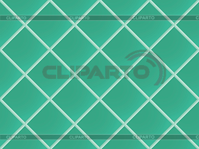 Zielony bez szwu wzór ceramiczny | Klipart wektorowy |ID 3003927