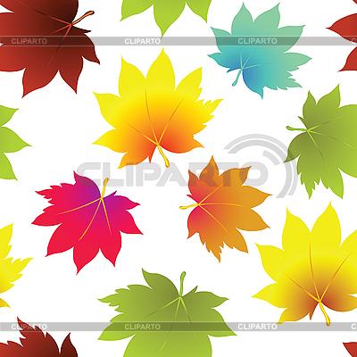Jesienne liście szwu | Klipart wektorowy |ID 3004272