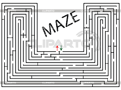 Labyrinth | Stock Vektorgrafik |ID 3004372