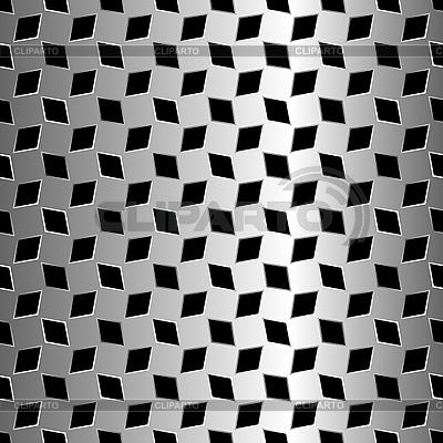 Design mit metallischem Romben | Stock Vektorgrafik |ID 3004428