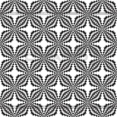 像素化的金属花无缝纹理 | 向量插图 |ID 3004430