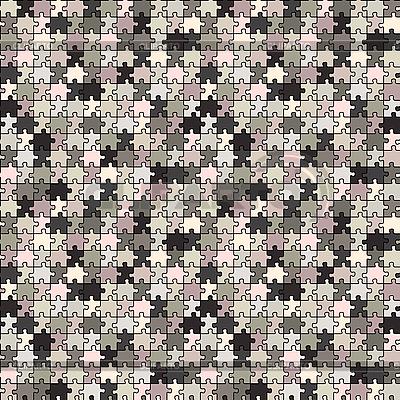 Puzzle szare tekstury | Klipart wektorowy |ID 3004827
