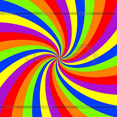 Радужная спираль | Векторный клипарт |ID 3004841