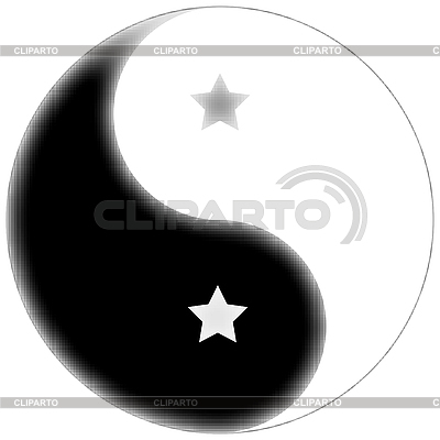 Favoriten Yin Yang | Stock Vektorgrafik |ID 3005410