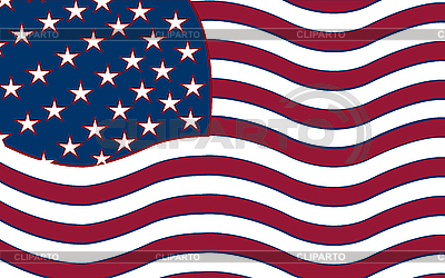 Stilisierte amerikanische Flagge | Stock Vektorgrafik |ID 3005716