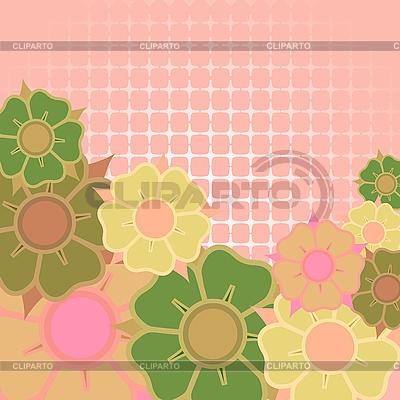 Цветочная открытка в векторе robertosch